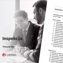 Dokumentacija potrebna prilikom inspekcijskog nadzora