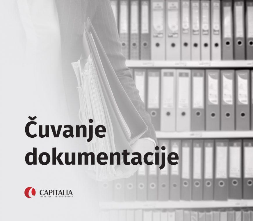 Rokovi za čuvanje poslovne dokumentacije